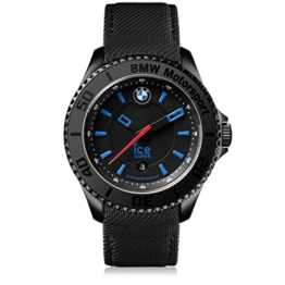 Ice-Watch - BMW Motorsport (steel) Black - Schwarze Herrenuhr mit Lederarmband - 001111 (Medium) - 1
