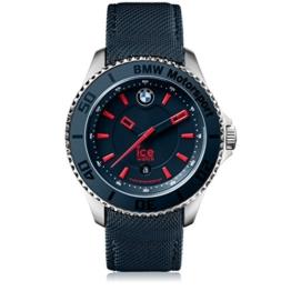 Ice-Watch - BMW Motorsport (steel) Blue Red - Blaue Herrenuhr mit Lederarmband - 001118 (Large) - 1