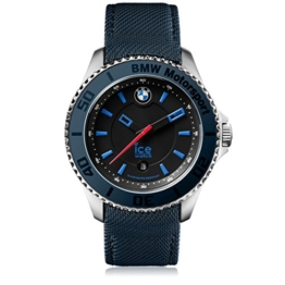 Ice-Watch - BMW Motorsport (steel) Dark & Light BE - Blaue Herrenuhr mit Lederarmband - 001113 (Medium) - 1