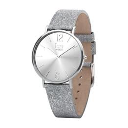 Ice Watch Damen Analog Quarz Smart Armbanduhr mit Leder Armband 015086 - 1