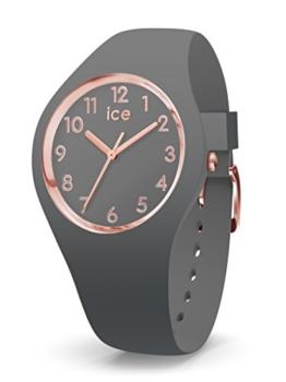 Ice Watch Damen Analog Quarz Uhr mit Silikon Armband 015332 - 1