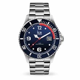 Ice Watch Herren Analog Quarz Uhr mit Edelstahl Armband 015771 - 1