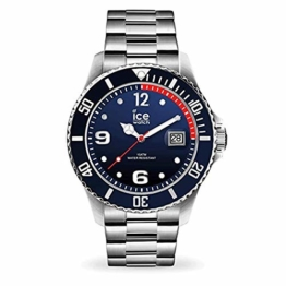 Ice Watch Herren Analog Quarz Uhr mit Edelstahl Armband 015775 - 1