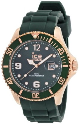 Ice-Watch Herren-Armbanduhr XL Style forest green Analog Quarz Silikon IS.FOR.B.S.13 - 1