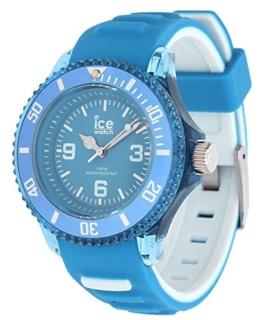 Ice-Watch - ICE aqua Malibu - Blaue Herrenuhr mit Silikonarmband - 001457 (Small) - 1