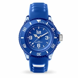 Ice-Watch - ICE aqua Marine - Blaue Herrenuhr mit Silikonarmband - 001455 (Small) - 1