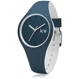 Ice-Watch - ICE duo Atlantic - Blaue Herrenuhr mit Silikonarmband - 001487 (Small) - 1