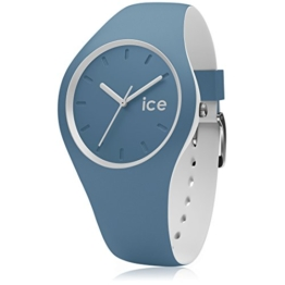 Ice-Watch - ICE duo Bluestone - Blaue Herrenuhr mit Silikonarmband - 001496 (Medium) - 1