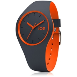 Ice-Watch - ICE duo Ombre orange - Blaue Herrenuhr mit Silikonarmband - 001494 (Medium) - 1