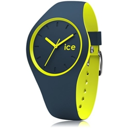 Ice-Watch - Ice Duo Safety Blue - Blaue Herrenuhr mit Silikonarmband - 012970 (Small) - 1