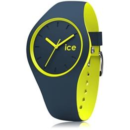 Ice-Watch - Ice Duo Safety Blue - Blaue Herrenuhr mit Silikonarmband - 012970 (Small) - 1