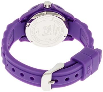 Ice-Watch - ICE forever Purple - Lila Mädchenuhr mit Silikonarmband - 000797 (Extra Small) - 2