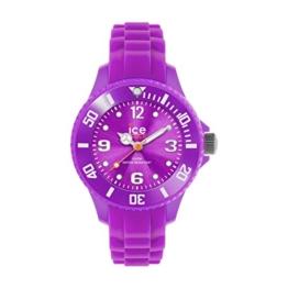 Ice-Watch - ICE forever Purple - Lila Mädchenuhr mit Silikonarmband - 000797 (Extra Small) - 1
