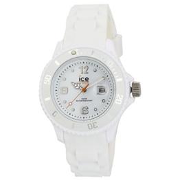 Ice-Watch - ICE forever White - Weiße Herrenuhr mit Silikonarmband - 000124 (Small) - 1