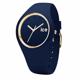 Ice-Watch - ICE glam forest Twilitght - Blaue Damenuhr mit Silikonarmband - 001055 (Small) - 1