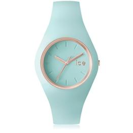 Ice-Watch - ICE glam pastel Aqua - Grüne Damenuhr mit Silikonarmband - 001068 (Medium) - 1