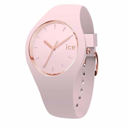 Ice-Watch - ICE glam pastel Pink lady - Rosa Damenuhr mit Silikonarmband - 001065 (Small) - 1