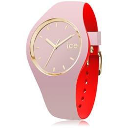 Ice-Watch - ICE loulou Dolce - Rosa Damenuhr mit Silikonarmband - 007244 (Medium) - 1