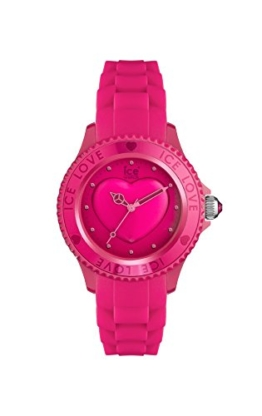 Ice-Watch - ICE love 2010 Pink - Rosa Damenuhr mit Silikonarmband - 013726 (Small) - 1