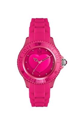 Ice-Watch - ICE love 2010 Pink - Rosa Damenuhr mit Silikonarmband - 013726 (Small) - 1
