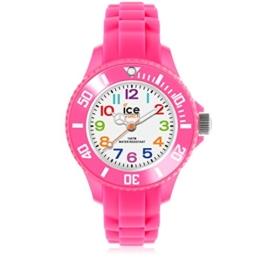 Ice-Watch - ICE mini Pink - Rosa Mädchenuhr mit Silikonarmband - 000747 (Extra Small) - 1