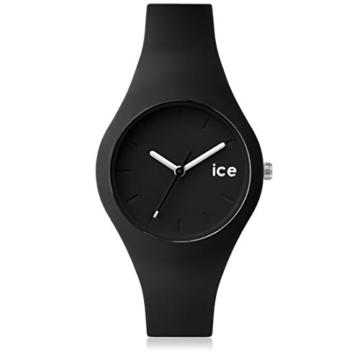 Ice-Watch - ICE ola Black - Schwarze Damenuhr mit Silikonarmband - 000991 (Small) - 1