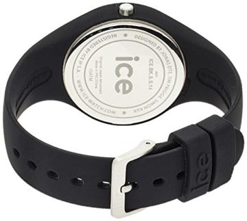 Ice-Watch - ICE ola Black - Schwarze Damenuhr mit Silikonarmband - 000991 (Small) - 2