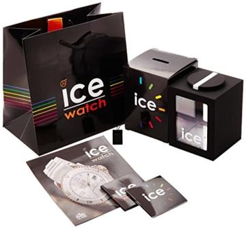 Ice-Watch - ICE ola Black - Schwarze Damenuhr mit Silikonarmband - 000991 (Small) - 5