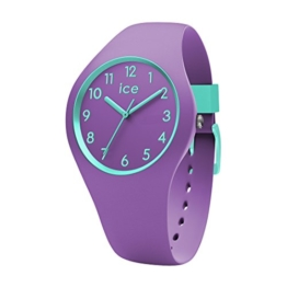 Ice-Watch - ICE ola kids Mermaid - Lila Mädchenuhr mit Silikonarmband - 014432 (Small) - 1