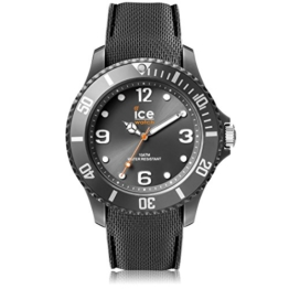 Ice-Watch - ICE sixty nine Anthracite - Graue Herrenuhr mit Silikonarmband - 007280 (Medium) - 1
