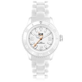 Ice-Watch - ICE solid White - Weiße Herrenuhr mit Plastikarmband - 000623 (Medium) - 1