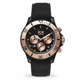 Ice-Watch Ice Urban Chrono PA Black Rose-Gold Uhr 10 bar Analog Datum Schwarz - 1