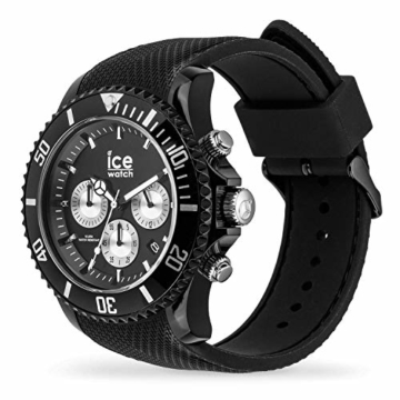 Ice-Watch Ice Urban Chrono PA Black Silver Uhr 10 bar Analog Datum Schwarz - 2