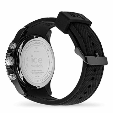 Ice-Watch Ice Urban Chrono PA Black Silver Uhr 10 bar Analog Datum Schwarz - 4