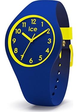 Ice Watch Jungen Analog Quarz Uhr mit Silikon Armband 015350 - 1