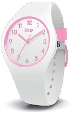 Ice Watch Mädchen Analog Quarz Uhr mit Silikon Armband 015349 - 1
