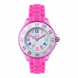Ice Watch Mädchen Analog Quarz Uhr mit Silikon Armband 016414 - 1