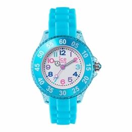Ice Watch Mädchen Analog Quarz Uhr mit Silikon Armband 016415 - 1