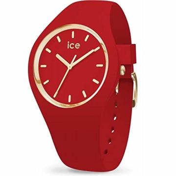Ice Watch Unisex Erwachsene Analog Quarz Uhr mit Silikon Armband 016263 - 1