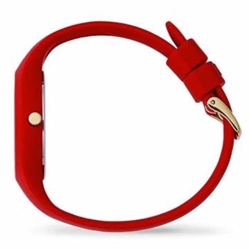 Ice Watch Unisex Erwachsene Analog Quarz Uhr mit Silikon Armband 016263 - 3