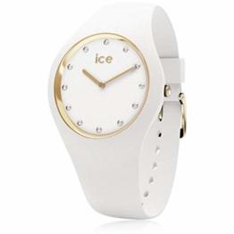 Ice Watch Unisex Erwachsene Analog Quarz Uhr mit Silikon Armband 016296 - 1