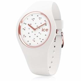 Ice Watch Unisex Erwachsene Analog Quarz Uhr mit Silikon Armband 016297 - 1