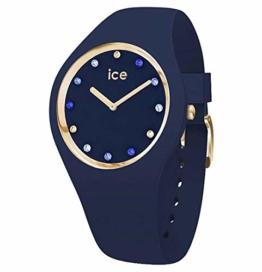 Ice Watch Unisex Erwachsene Analog Quarz Uhr mit Silikon Armband 016301 - 1