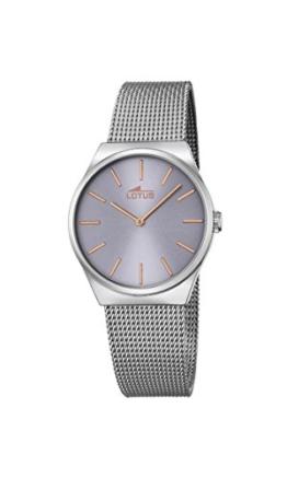 Lotus Damen Analog Quarz Uhr mit Edelstahl Armband 18288/2 - 1