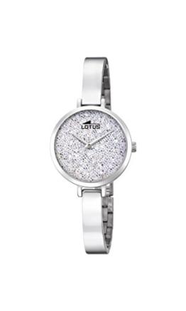 Lotus Damen Analog Quarz Uhr mit Edelstahl Armband 18561/1 - 1