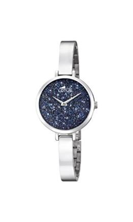 Lotus Damen Analog Quarz Uhr mit Edelstahl Armband 18561/3 - 1