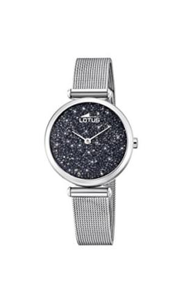 Lotus Damen Analog Quarz Uhr mit Edelstahl Armband 18564/3 - 1