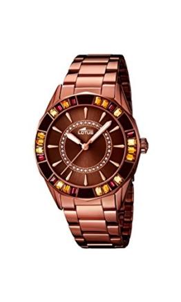 Lotus Damen-Armbanduhr Analog Quarz Edelstahl 15894/3 - 1