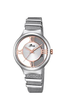 Lotus Damen-Armbanduhr Analog Quarz Edelstahl 18331/1 - 1