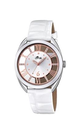 Lotus Damen-Armbanduhr Analog Quarz Leder 18224/1 - 1